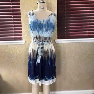 Benetton belted summer dress